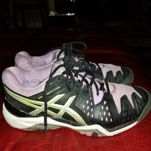 Asics Gel Resolution Women's Running Sneakers Sz 8